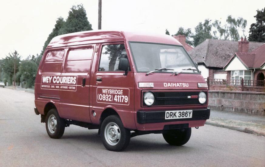 Wey Couriers Van